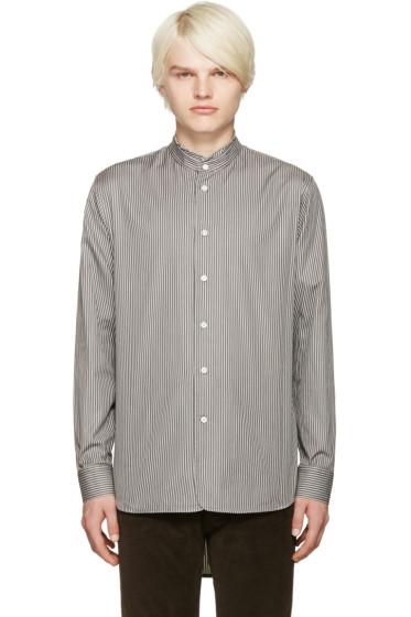 Marc Jacobs - Grey Micro Stripe Shirt