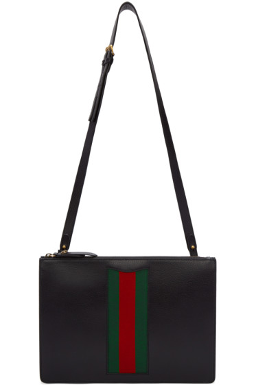 Gucci - Black Messenger Bag
