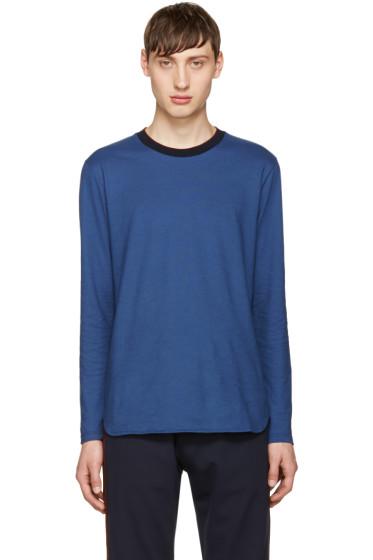 Giuliano Fujiwara - Blue Cotton T-Shirt