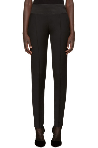 Pallas - Black Wool Esope Trousers