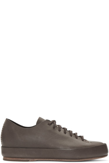 Feit - Brown Leather Sneakers