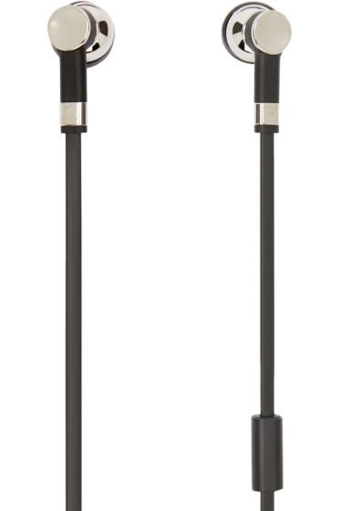 Master & Dynamic - Silver & Black ME05 Earphones