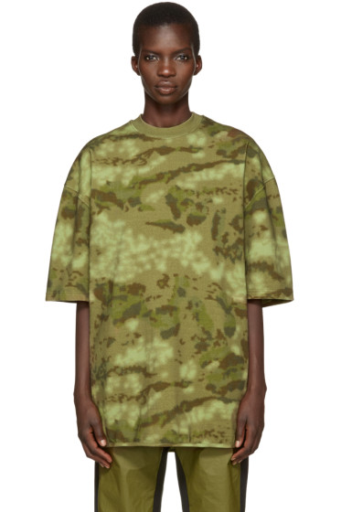 YEEZY - Green Camo Heavy Knit T-Shirt