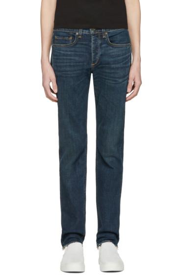 Rag & Bone - Indigo Standard Issue Fit 2 Jeans