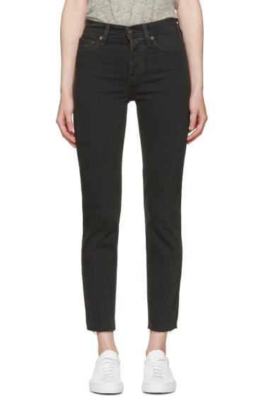 Levi's - Black Wedgie Fit Jeans