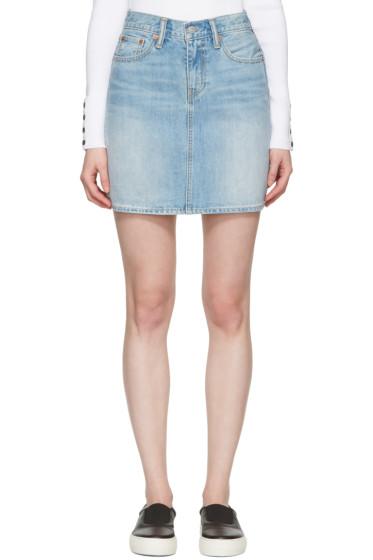 Levi's - Blue Denim Everyday Skirt