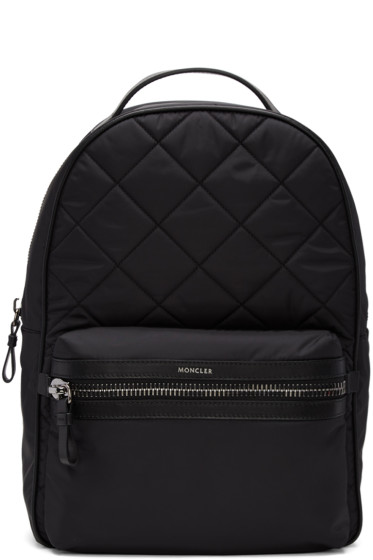 Moncler - Black Quilted Nylon Backpack