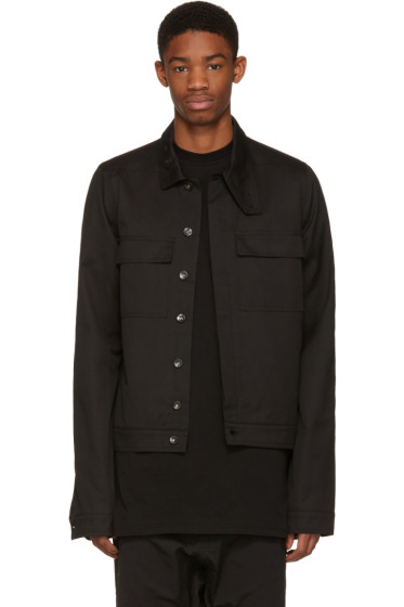 Rick Owens Drkshdw - Black Nurse Jacket