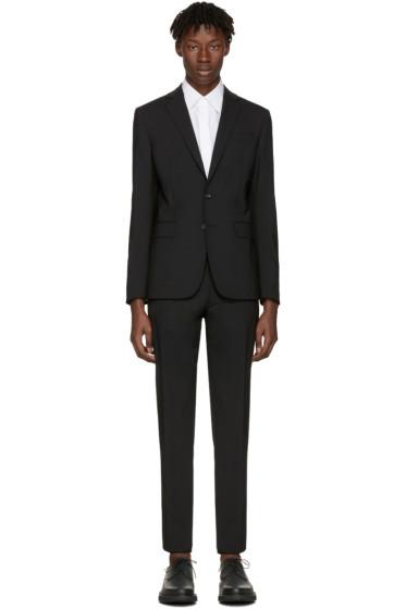 Dsquared2 - Black Wool Paris Suit