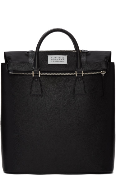 Maison Margiela - Black Exposed Lining Tote Bag
