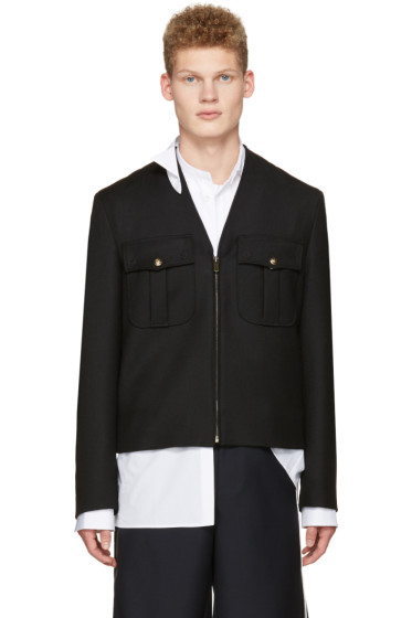 Maison Margiela - Black Military Jacket