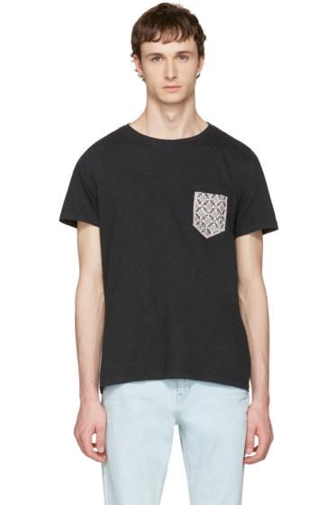 Maison Margiela - Black Pocket Patch T-Shirt