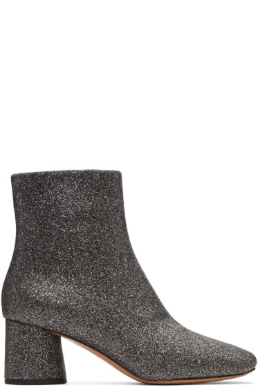Marc Jacobs - Silver Valentine Boots