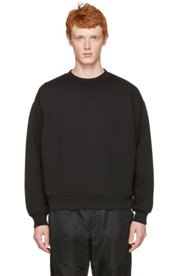 T by Alexander Wang - Black Oversized Pullover
