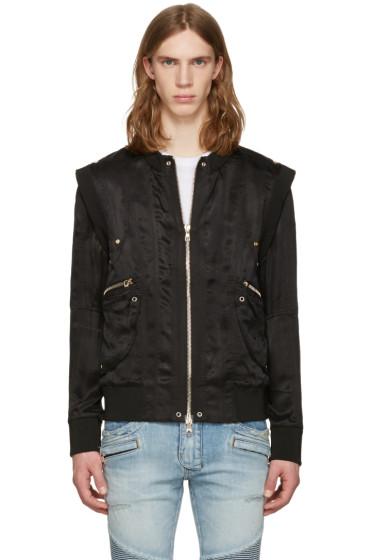 Balmain - Black Zip Jacket