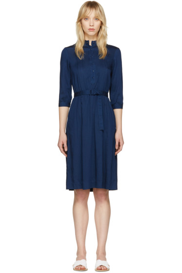 A.P.C. - Indigo Marion Dress