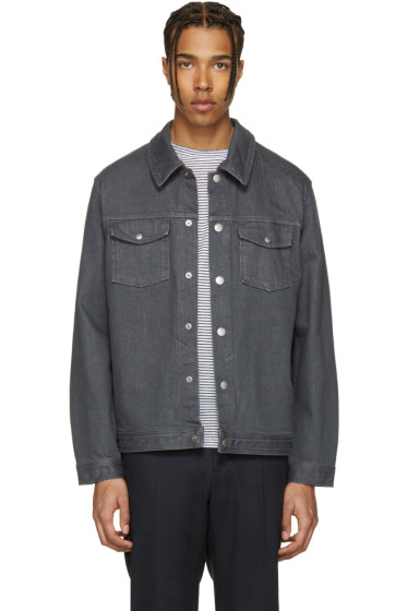 A.P.C. - Grey Denim John Jacket