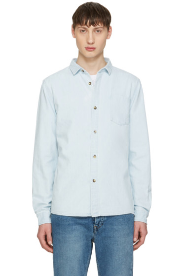 A.P.C. - Blue Denim John Shirt