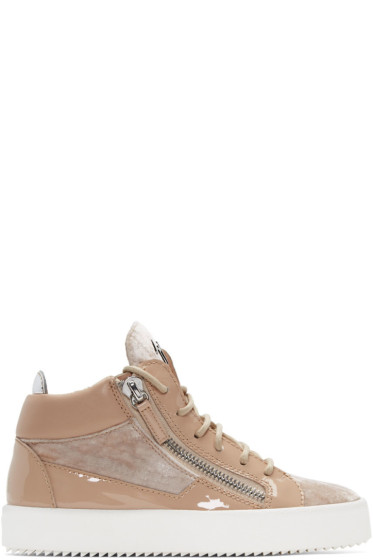 Giuseppe Zanotti - Pink May London High-Top Sneakers