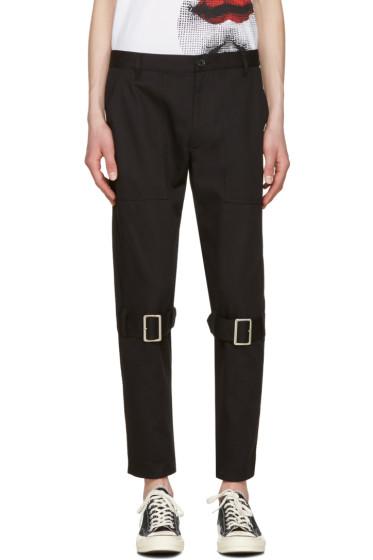 Comme des Garçons Shirt - Black Belted Leg Trousers