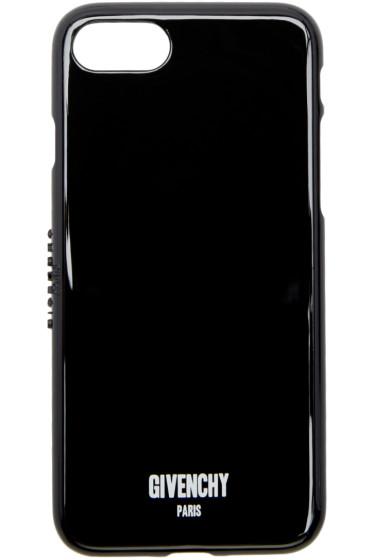 Givenchy - ブラック ロゴ iPhone 7 ケース