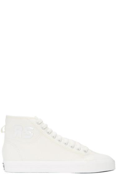 Raf Simons - Off-White adidas Originals Edition Spirit High-Top Sneakers