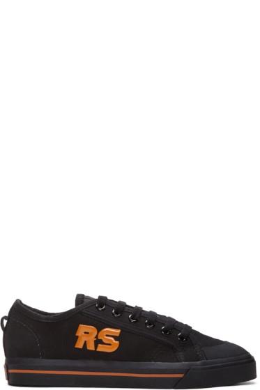 Raf Simons - Black adidas Originals Edition Spirit Low Sneakers