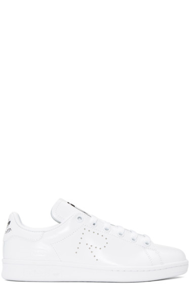 Raf Simons - White adidas Originals Edition Stan Smith Sneakers