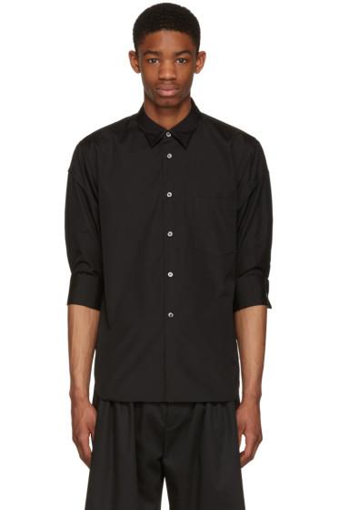Comme des Garçons Homme Plus - Black Poplin Shirt