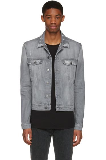 BLK DNM - Grey Denim 33 Jacket