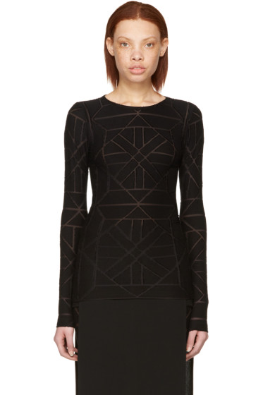 Gareth Pugh - Black Tile T-Shirt