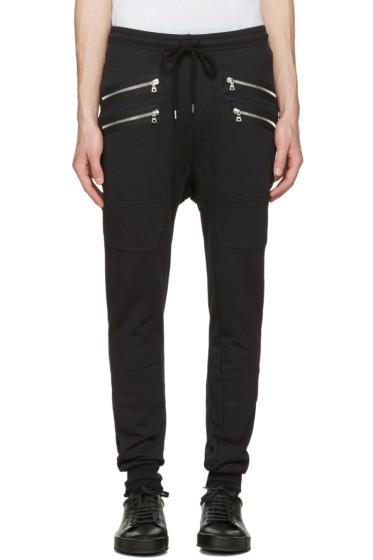 Markus Lupfer - Black Double Zip Lounge Pants