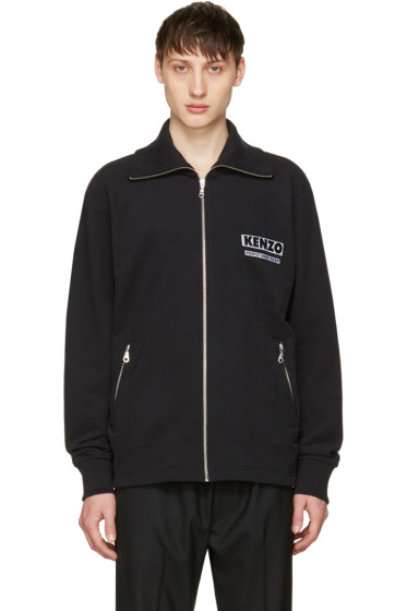 Kenzo - Black 'Come Out' Track Jacket