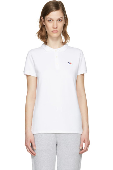 Maison Kitsuné - White Fox Patch Polo