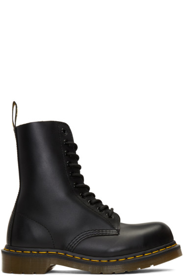 Dr. Martens - Black Ten-Eye 1919 Boots