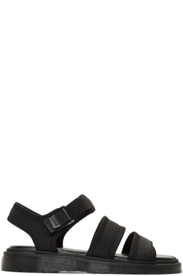 Dr. Martens - Black Effra Tech Sandals