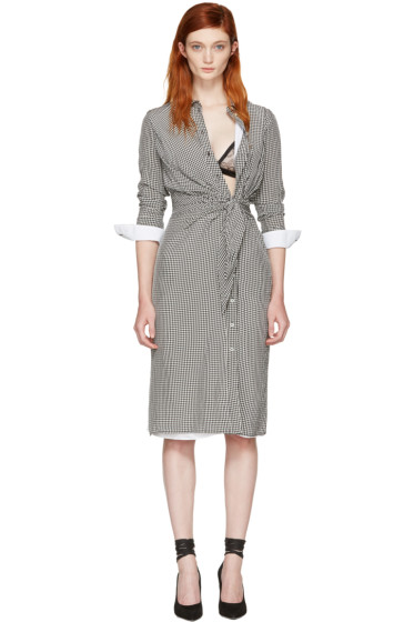 Altuzarra - ブラック & ホワイト ギンガム ユマ ドレス