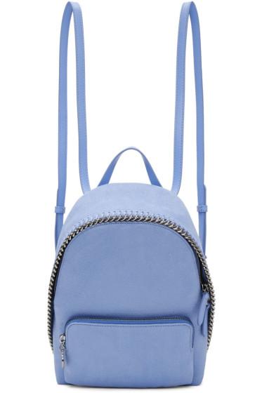 Stella McCartney - Blue Mini Falabella Backpack