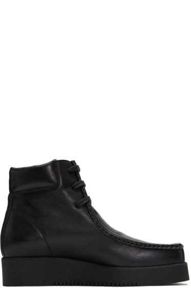 Calvin Klein Collection - Black Wally Boots
