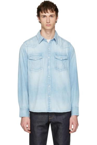 Visvim - Blue Denim Social Sculpture Shirt