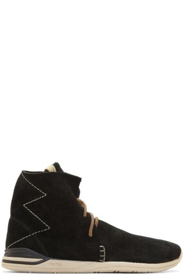 Visvim - Black Huron Moc Hi-Folk Boots