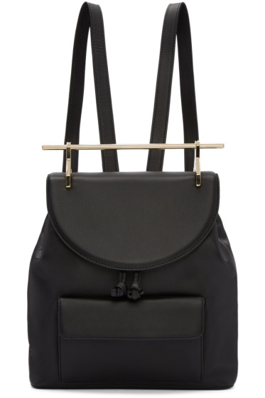 M2Malletier - Black Leather Backpack