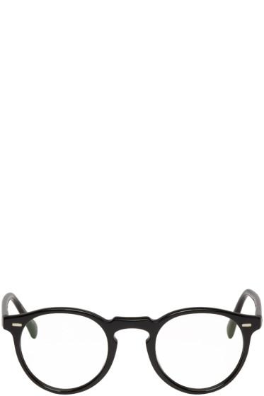 Oliver Peoples - Black Gregory Peck Glasses