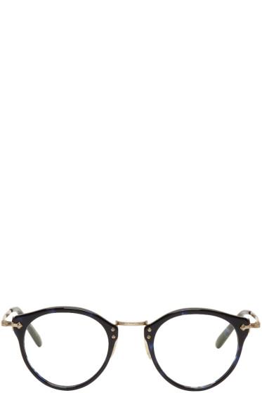 Oliver Peoples - Blue Vintage OP-505 Glasses