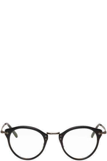 Oliver Peoples - Black OP 505 Glasses