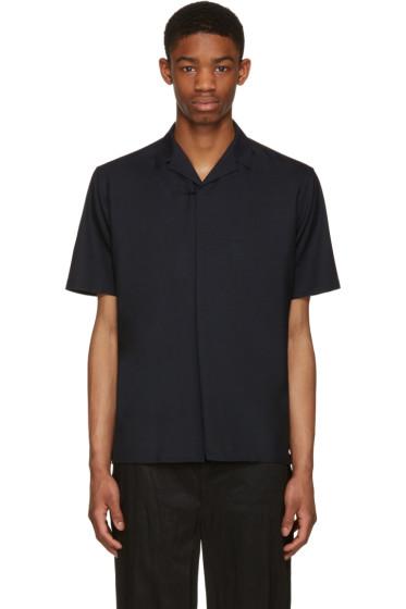 Kolor - Navy Zip Shirt