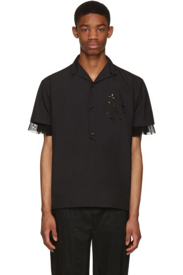 Kolor - Black Button-Down Shirt