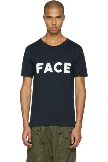 Facetasm - ブラック Face T シャツ
