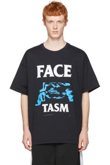 Facetasm - ブラック ロゴ T シャツ
