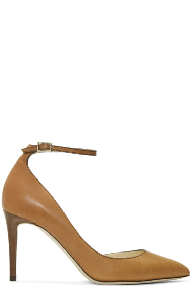 Jimmy Choo - Tan Lucy Heels